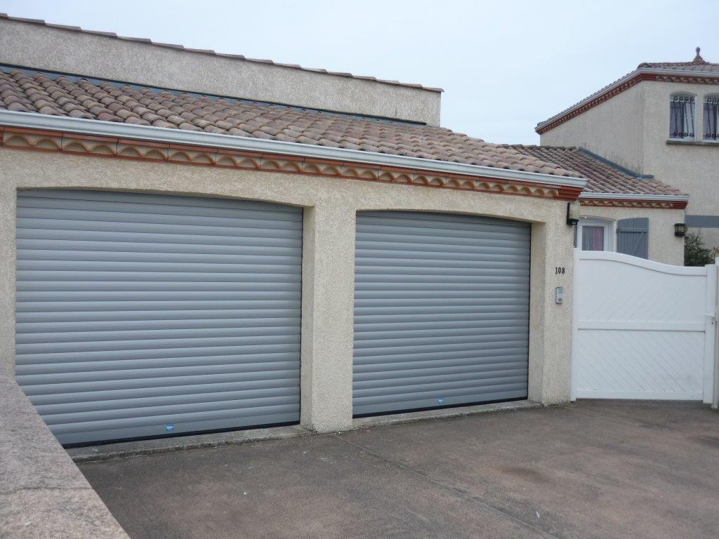 PORTE GARAGE ENROULABLE 1